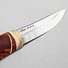 A knife by olav svonni, signed and dated 2007