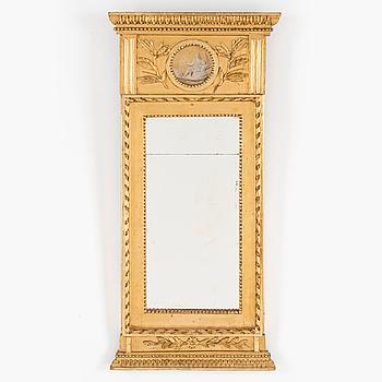 EMPIRE, A 19th century empire mirror.