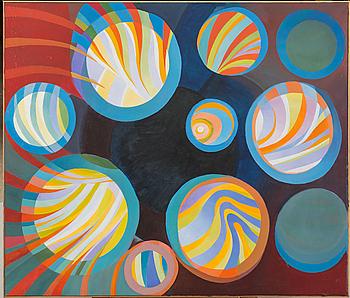 TORSTEN ESBJÖRNSSON, oil on canvas, signed, dated 1987-1990,