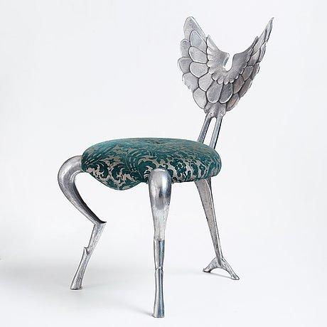 """Mark brazier jones, an """"angel"""" chair, england 2005."""