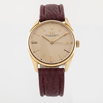 IWC, International Watch Co, Schaffhausen, armbandsur, 34,5 mm.