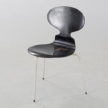 "ARNE JACOBSEN, stol, ""Myran"", modell formgiven 1952."
