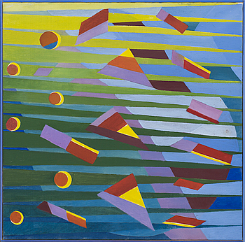 TORSTEN ESBJÖRNSSON, oil on canvas, dated 2010.