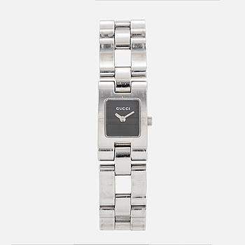 GUCCI, armbandsur, 17 x 18,5 (28,5) mm,