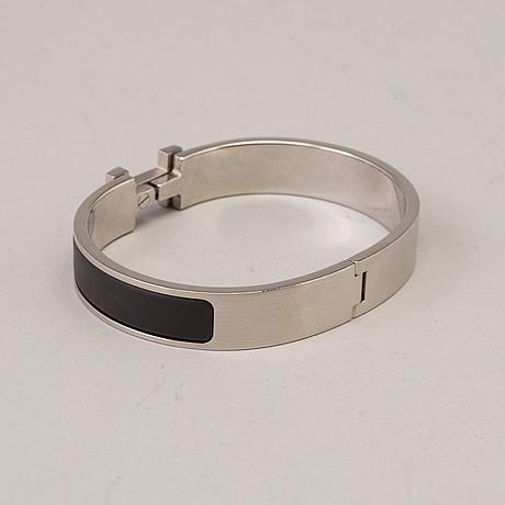 """Armband, """"clic h"""", hermès."""