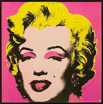 ANDY WARHOL, efter, offsetlitografi / poster, teNeues, 1993.