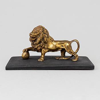 SKULPTUR, brons, 1800-talets första hälft.