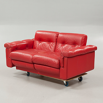 A sofa, made in the second half of the 20th century.