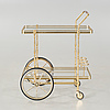 A serving trolley from italy, 20th century.