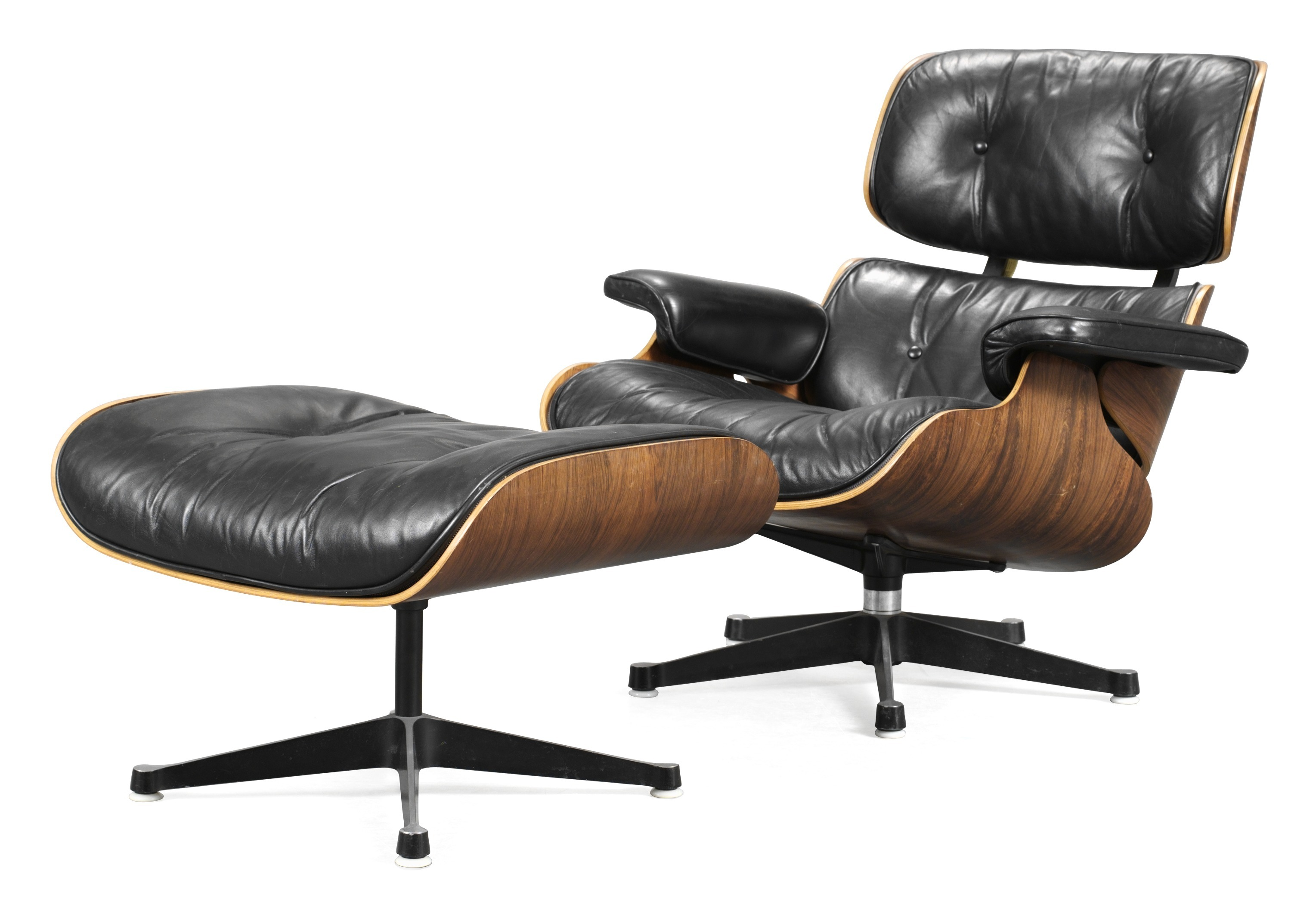 A Charles Ray Eames Lounge Chair With Ottoman Herman Miller