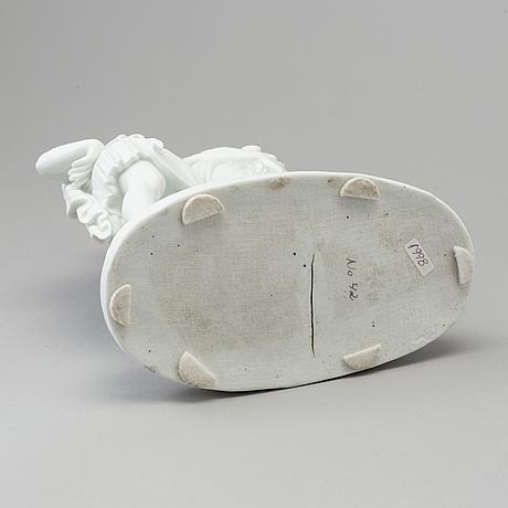 """Bertel thorvaldsen, efter. skulptur, biskvi. """"en son med sin far"""". bing & gröndahl, danmark, 1800 tal"""