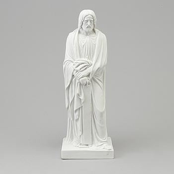 """BERTEL THORVALDSEN, efter. SKULPTUR, biskvi. """"Aposteln Simon (Zelotes)"""", Kunglig dansk, 1800-tal."""