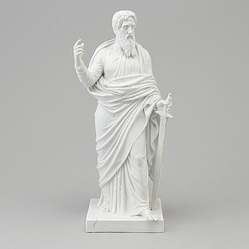 "BERTEL THORVALDSEN, efter. SKULPTUR, biskvi. ""Aposteln Paulus"". Kungl. Dansk, 1860-tal."