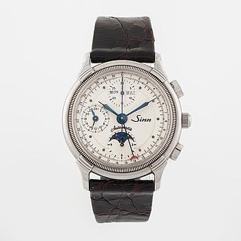 SINN, armbandsur, kronograf, 37,5 mm.