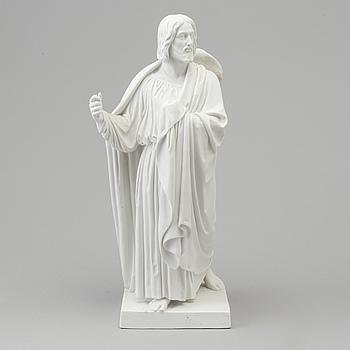 """BERTEL THORVALDSEN, efter. SKULPTUR, biskvi. """"Aposteln Jacob"""", Kungl Dansk, 1800-tal."""