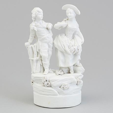 Skulptur, biskvi. frankrike, paris, troligen sent 1700 tal
