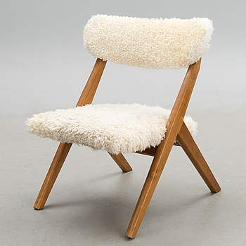 Easy chair, model 2429, 'Bambino' for Asko, Finland. Design year 1955.