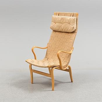 """BRUNO MATHSSON, An armchair """"Eva Hög"""", by Bruno Mathsson, 1972."""