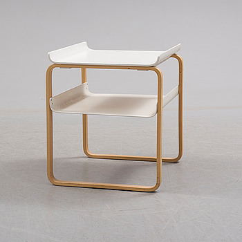 ALVAR AALTO, A side table by Alvar Aalto, Artek.