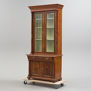 BOKSKÅP, nyrenässans, sent 1800-tal.