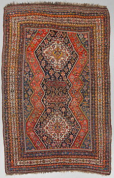 MATTO, a semi-antique Qashqai, ca 304 x 188-193 cm.