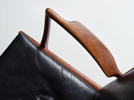 "Hans j wegner, fåtöljer ett par, ""ap16"", ap-stolen, danmark 1950-60-tal."