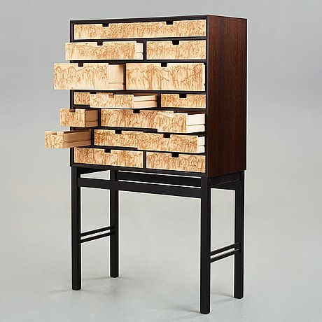 "Kerstin olby, a unique ""rhapsody"" cabinet by olby design 2010."