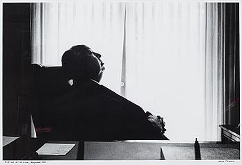 HASSE PERSSON, silvergelatinfotografi, signerad och daterad 1968.