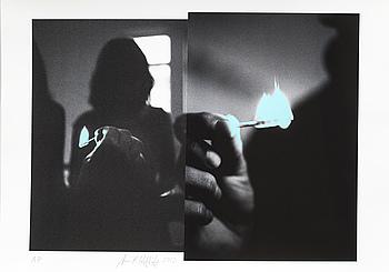 ANNIKA VON HAUSSWOLFF, grafiskt blad, AP-upplaga, signed and dated 2013.