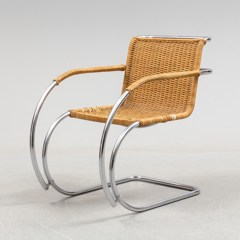 Ludwig Mies Van Der Rohe Armchair Mr 20 Designed 1927 Bukowskis