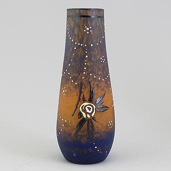 An André Delatte vase, Nancy France probably 1920's.
