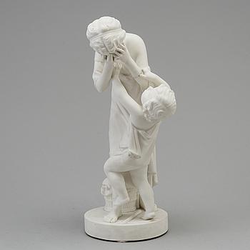 A parian sculpture, Gustafsberg, 1907.