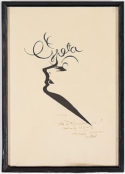 EINAR NERMAN, EINAR NERMAN, print, signed and dated 1961.