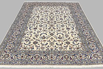 A CARPET, Kashan, around 310 x 200 cm.
