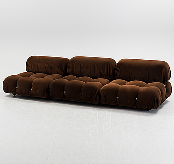 MARIO BELLINI, a three section 'Camaleonda' sofa from B&B Italia.