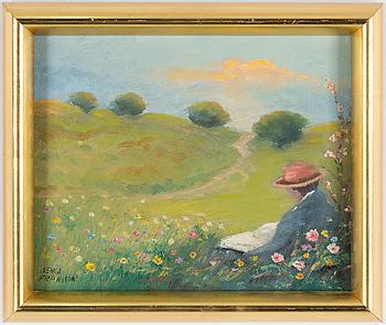 BENGT FRANSSON, BENGT FRANSSON, oil on canvas, signed.