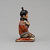 "Figurin, porslin. ""grönland"", royal copenhagen, danmark, 1940-tal."