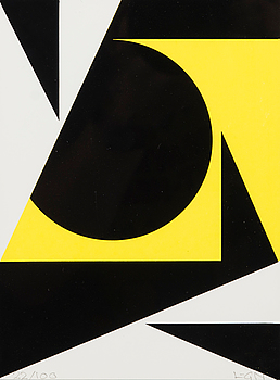 LARS-GUNNAR NORDSTRÖM, serigraph, signed and numbered 22/100.