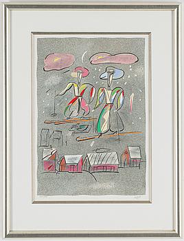 MADELEINE PYK, litografi, signerad och numrerad 225/250.