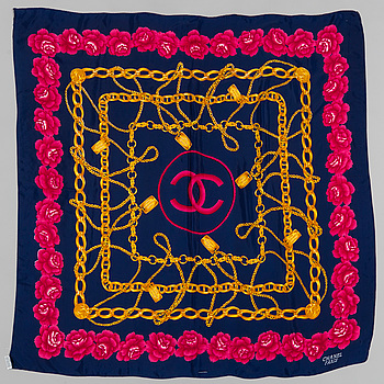 a scarf by Chanel.