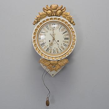 VÄGGUR, allmoge, 1800-talets mitt.