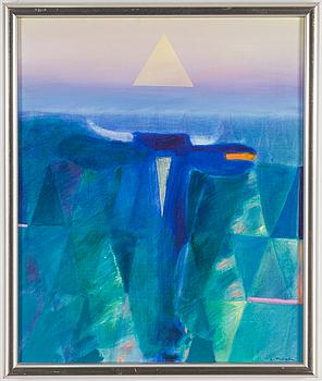 LEOPOLD FALKOWSKI, LEOPOLD FALKOWSKI, oil on canvas, signed.