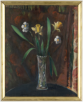 CARL RYD, CARL RYD, oil on panel, signed and dated 1923.