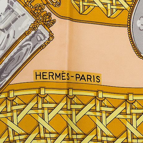 """Scarf, """"hermès, """"feux de route"""", latest edition 1995"""