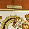 "Scarf, ""hermès, ""caraïbes"", issued 1974"