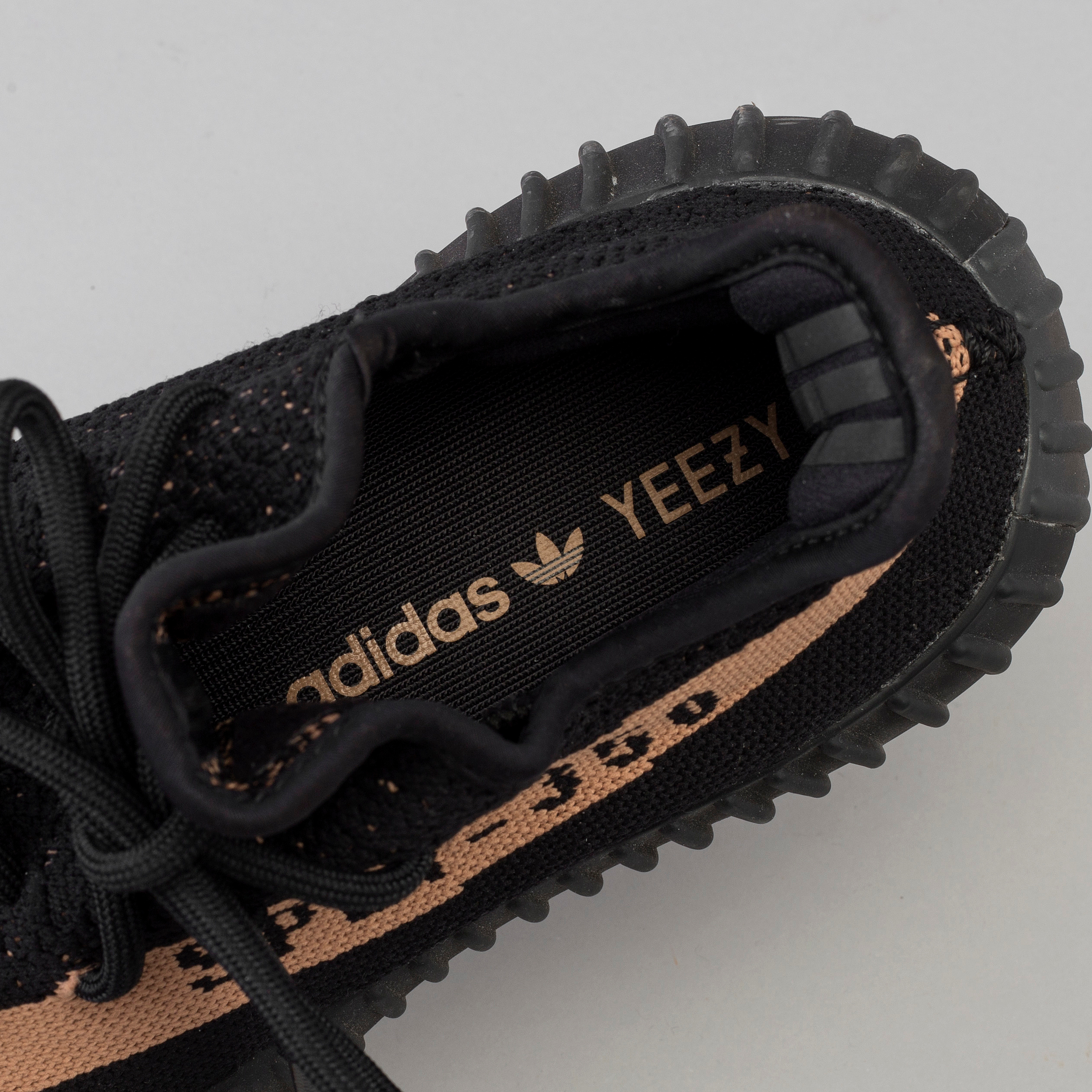 low priced bac1f 15ed4 Adidas Yeezy Boost 350 V2 core black copper sneakers ...