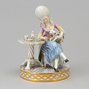 ROYAL COPENHAGEN, A Royal Copenhagen porcelain figure group, Denmark, beginning of 20th century.