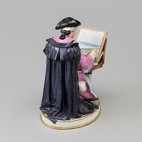 Figurin, porslin. bing & gröndahl, danmark, 1930 tal