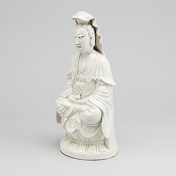 GUANYIN, blanc de chine, 1900-TAL.