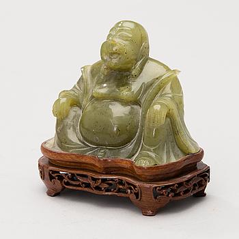 A Bowenite Buddha Figurine.